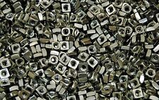 (850) Zinc Plated 1/4-20 Square Nut - Coarse Thread