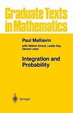 Integration and Probability (Graduate Texts in Mathematics) (v. 157)