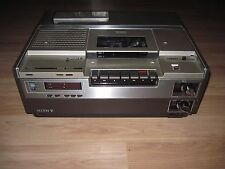 Vintage '79 Sony SL 8600 X2 Betamax VCR/Video Cassette Recorder/Remote/Free Ship