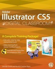Illustrator CS5 Digital Classroom, (Book and Video Training) - Good - AGI Creati