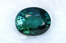 2.62 CARATS EYE CLEAN TEAL GREEN-BLUE GEM QUALITY TOURMALINE OVAL