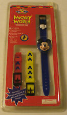 INNOVATIVE TIME MICKEY MOUSE WATCH W/3 INTERCHANGEABLE STRAPS CHINA - NEW