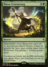 Nissas Erneuerung FOIL / Nissa's Renewal | NM | Prerelease Promo | GER | Magic