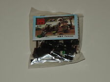 Combat Zone Series Type Buildable Mini-Figure Set Mine Detector Soldier & Cycle