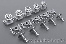 Unterfarschutz Schraube Motorschutz Reparatur Set Clips für BMW E39 E38 E52 Z8