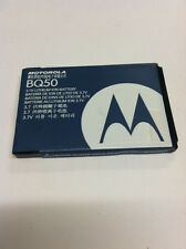 2 NEW OEM ORIGINAL MOTOROLA BQ50 EM330 VE240 W175 W230A W270 ROKER E2 BATTERY