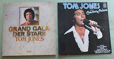 Tom Jones 2 Vinyl LPs - Live at the Caesar's Palace / Grand Gala / TOP