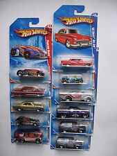 "2010 Hot Wheels Walmart Exclusive ""BF Goodrich"" Tire 10 Car Set (FREE SHIP)"
