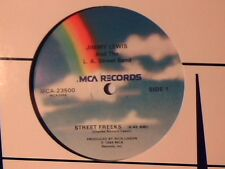 "JIMMY LEWIS AND THE L.A. STREET BAND Street freeks 12"" USA COME NUOVO LIKE NEW!!"