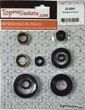 NEW Engine Oil Seal Kit Fits: KAWASAKI KX125 KX 125 90-93' CRANK SEALS PN220051