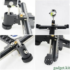 Shooting Compound bow sights Aluminum 1 Pin Bow Sights bow accessories Black