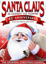 CHRISTMAS-SANTA CLAUS IS COMING TO TOWN 45TH ANNIVERSARY COLL ED (DVD DVD NEW
