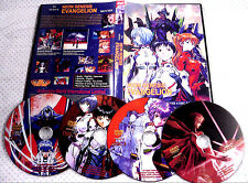 Neon Genesis Evangelion 26 Complete Episodes  + 2 Movies DVD Free US Shipping!