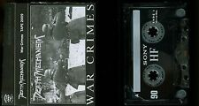 Death Mechanism War Crimes DEMO Cassette Tape Thrash