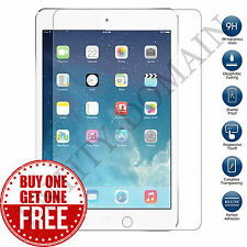 100% GENUINE TEMPERED GLASS FILM LCD SCREEN PROTECTOR FOR APPLE IPAD AIR 1 - 2