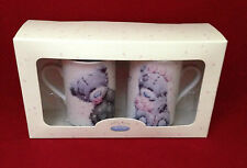 ME TO YOU BEAR TATTY TEDDY SOFTLY DRAWN MR & MRS MUGS SET WEDDING GIFT