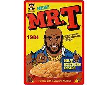 Mr. T Cereal Box Quaker Oats Refrigerator / Tool Box Magnet