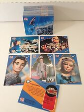 GERRY ANDERSON Vintage Card Set by ITC all 66 Cards THUNDERBIRDS CAPTAIN SCARLET
