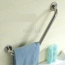 Stainless Steel Bathroom Shower Towels Rail Wall Grab Bar Safety Grip Handle