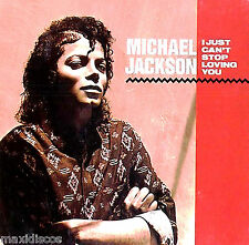 """12"""" - Michael Jackson - I Just Can't Stop Loving You (SPANISH EDIT. 1987) LISTEN"""