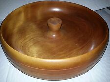 Vintage 1948 Handcrafted, personalized Nut bowl w/ an HMQ nutcracker and 6 pics