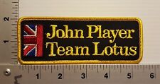 JOHN PLAYER TEAM LOTUS RACING VINTAGE PATCH