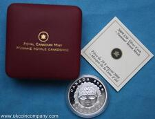 2009 Canada Silver Proof $20 Twenty Dollar Coin Summer Moon Mask