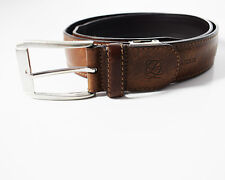 Louis Quatorze Original Men's Real Leather Belt Brown