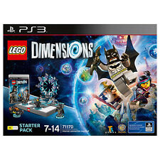 NEW LEGO Dimensions Starter Pack 71170 - PS3 Age: 7 - 14