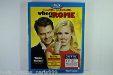 WHEN IN ROME BLU RAY BNEW SEALED w/SLIPCASE