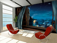 Magic Window  Wall Mural Photo Wallpaper GIANT WALL DECOR PAPER POSTER FREE GLUE