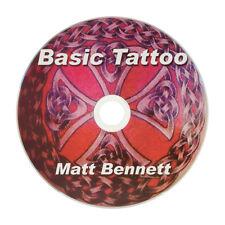 Learn to Tattoo - Basics - Instructional DVD by Matt Bennett