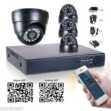 8CH 960H HDMI DVR NVR 2in1 700TVL Outdoor 24IR CCTV Camera Home Security System