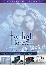 The Twilight Saga: The Complete Collection (DVD, 2013, 12-Disc Set) BRAND NEW!!!