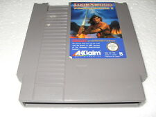 Jeu vidéo Nintendo NES Ironsword Wizards & Warriors II (2)