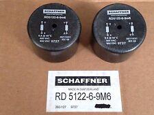 2x Schaffner 6A Choke - RD5122-6-9m6 - RD Choke 9727 Radial