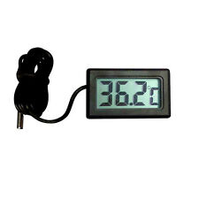 Car Household Mini Digital LCD Temperature Meter Thermometer Probe Design XC