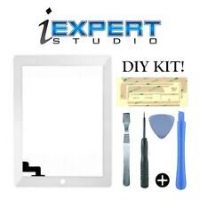 NEW OEM Original for iPad 2 White Digitizer Touch Screen Glass Replacement TOOLS