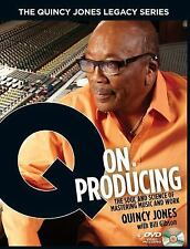 The Quincy Jones Legacy Series: Q on Producing: The Soul and Science o-ExLibrary