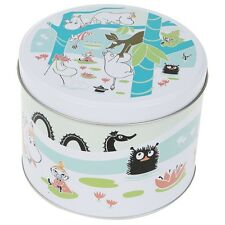 Moomin at the Pond Round Cookie Tin