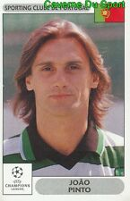 072 JOAO PINTO PORTUGAL SPORTING.CP STICKER PANINI CHAMPIONS LEAGUE 2000-2001