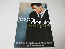 Jason Derulo Whatcha Say Poster 2009 Promotional 11X17 NEW
