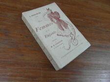 Leon ROGER MILES : NOS FEMMES ET NOS ENFANTS Flammarion 1893 DEDICACE tres rare