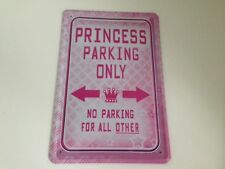 Principessa parking only - Targa di latta 20x30 cm Parcheggio Garage 7