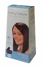 Tints of Nature Marrón Oscuro Natural Permanente Color de cabello 3N 130ml-Free UK Post
