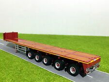 WSI TRUCK MODELS,GOLDHOFER BALLAST TRAILER 5 AXLE,1:50