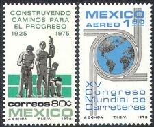 Mexico 1975 Cars/Motoring/Transport/Road Construction/Builders 2v set (n42043)
