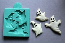 Silicone Mould  HELLOWEEN GHOSTS BY DOMOZETOV ART Sugarcraft Cake mold