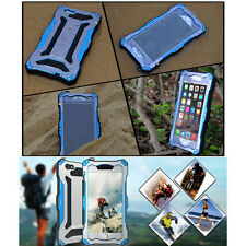 R-JUST Water Resistant Aluminum Glass Metal Case Cover for iPhone 5 5S SE
