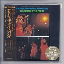 MAMAS & The PAPAS Live Monterey JAPAN mini lp cd SHM UICY-75707 papersleeve NEW
